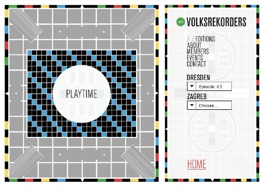 Volksrekorders / Website / Volksrekorders.com / 2007