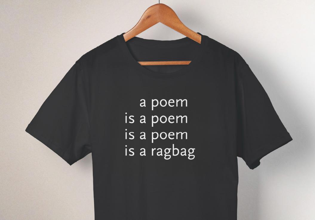 Theodorus Marinus van den Berg / t-shirt / poetry international / 2010