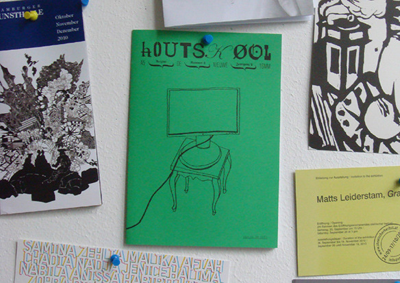 hOUTSKØOL / drukwerk / printed matter / utrecht / 2010