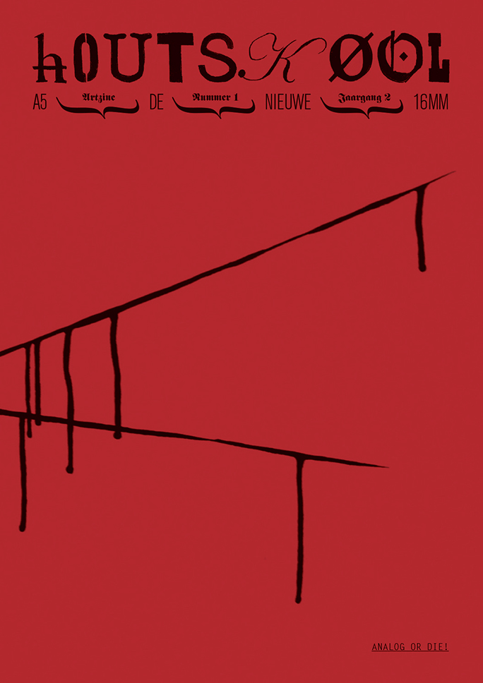 hOUTSKØOL / artzine / #5 / cover: rafaël rozendaal / 2010