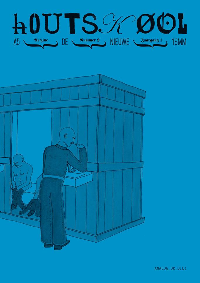 hOUTSKØOL / artzine / #2 / cover: atelier van lieshout / 2009