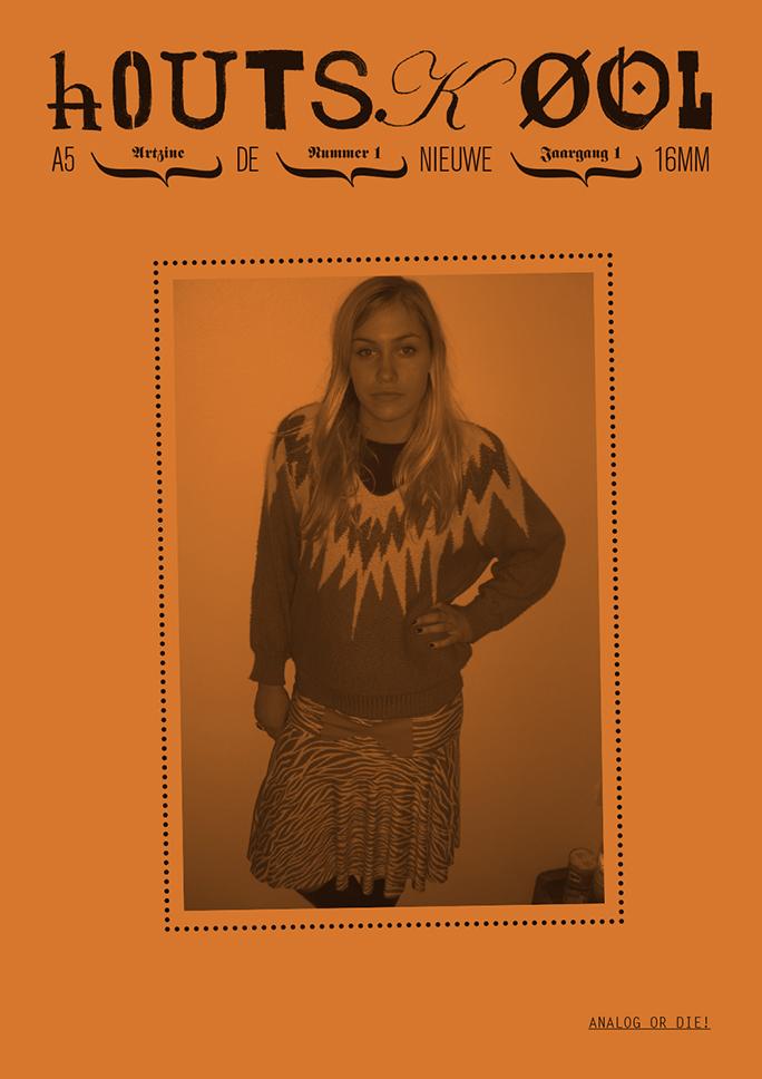 hOUTSKØOL / artzine / #1 / cover: johan gustavsson / 2009