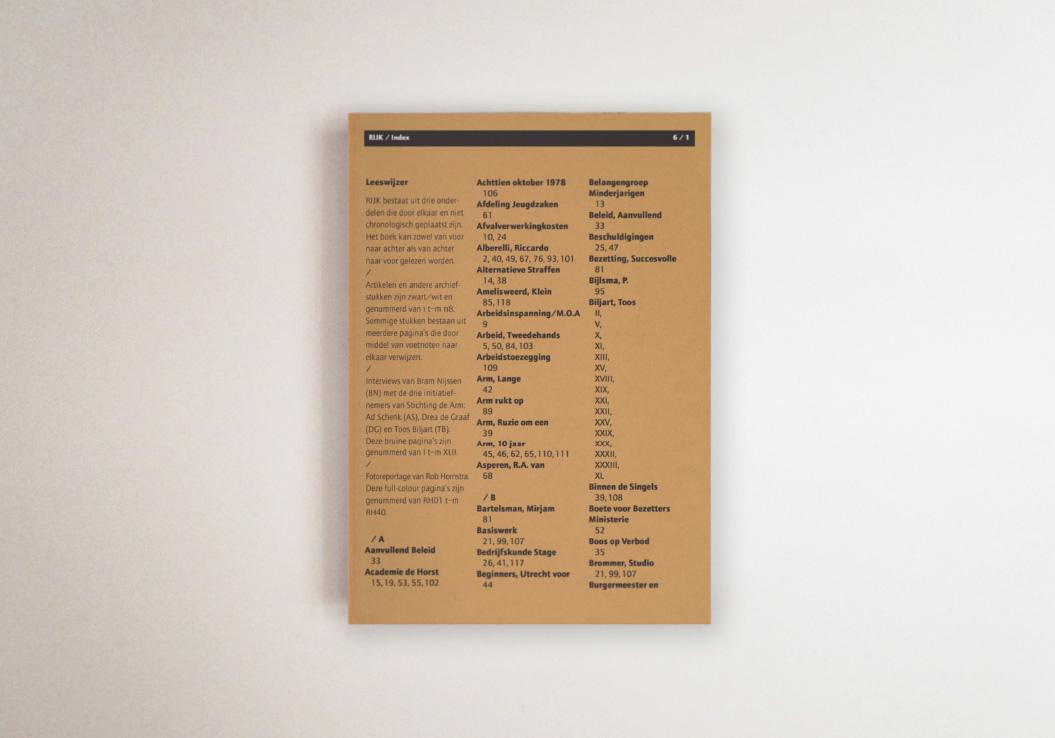 RIJK / Autres Directions / Publication / Bram Nijssen / Rob Hornstra / 2005