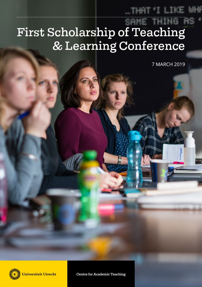 Universiteit Utrecht / Brochure / Centre for Academic Teaching / Symposium / 2019