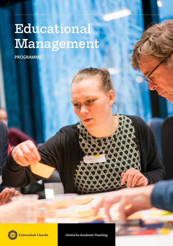 Universiteit Utrecht / Flyer / Centre for Academic Teaching / 2018