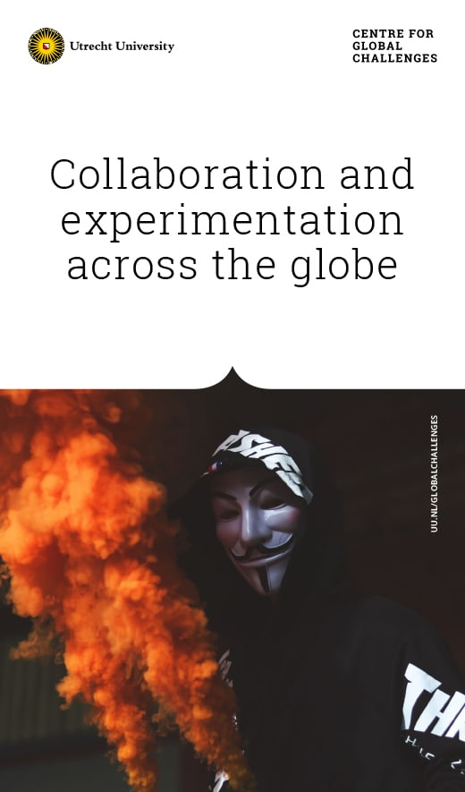 Universiteit Utrecht / Campagne / Poster / Centre for Global Challenges / 2018