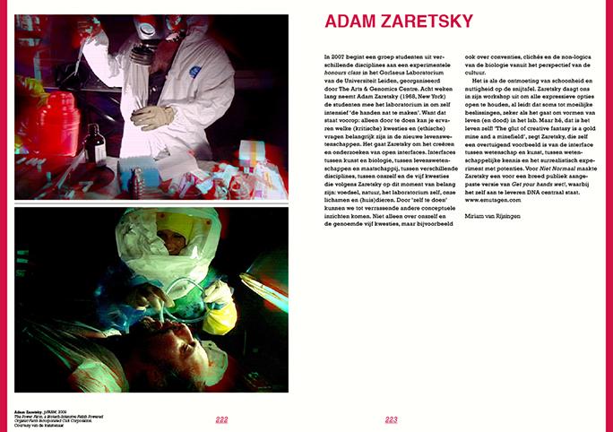 Niet Normaal / Publicatie / Adam Zaretsky / 2009