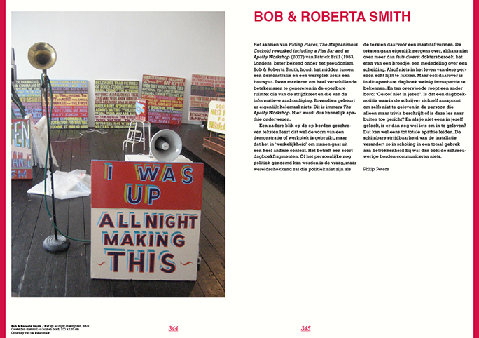 Niet Normaal / Publicatie / Rob & Roberta Smith / 2009