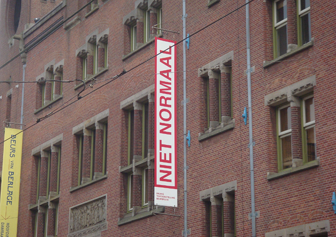 Niet Normaal / Beurs Van Berlage / Amsterdam / 2009