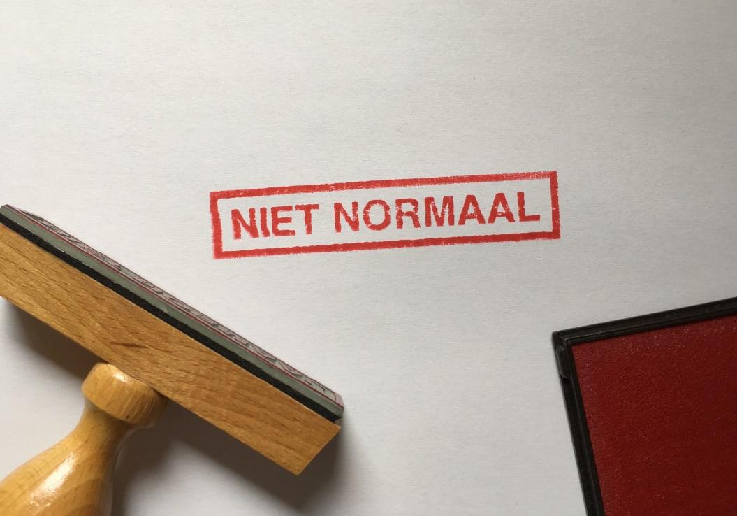 Niet Normaal / Stempel / 2007