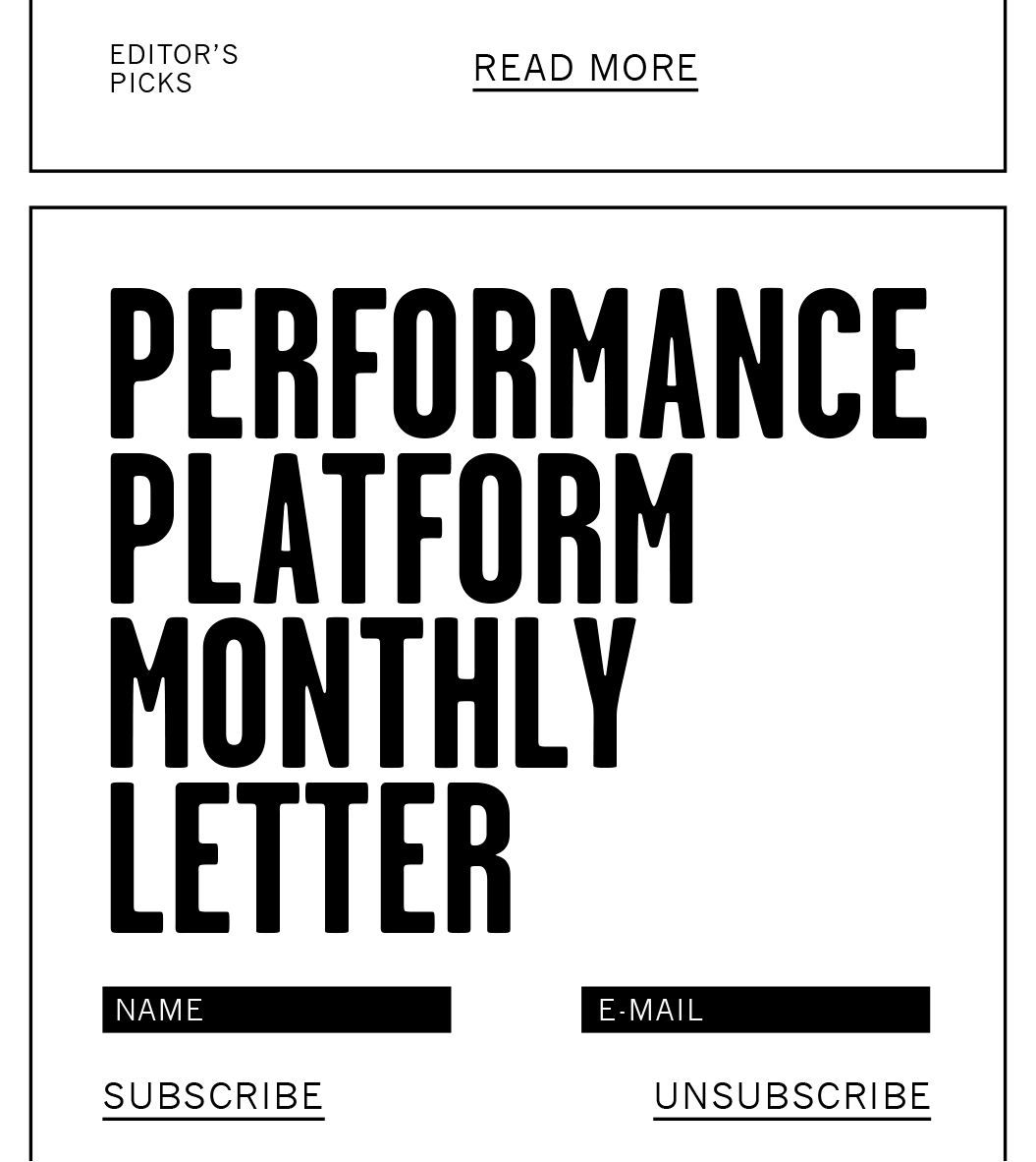 Performance Platform / Mobiel / Monthly Letter / 2014