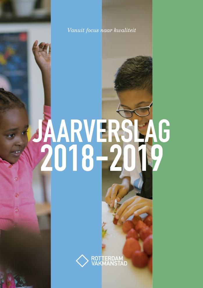 Rotterdam Vakmanstad / Jaarverslag / Cover / 2018-2019