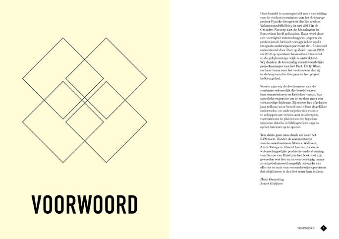 Rotterdam Vakmanstad / Publicatie / Voorwoord / 2012