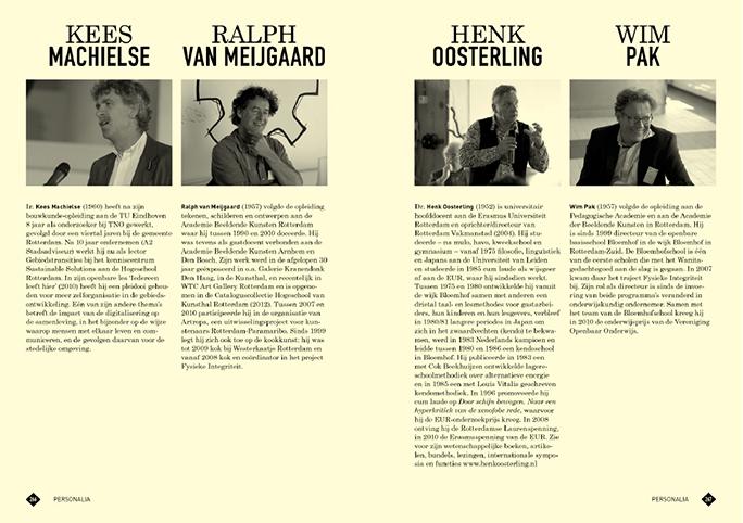 Rotterdam Vakmanstad / Publicatie / Personalia / 2012