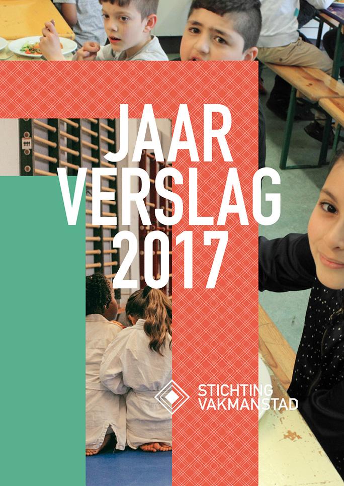 Rotterdam Vakmanstad / Jaarverslag / Omslag / 2017