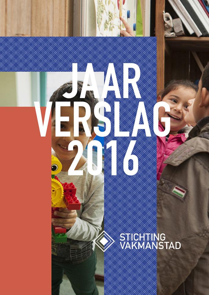 Rotterdam Vakmanstad / Jaarverslag / Omslag / 2016