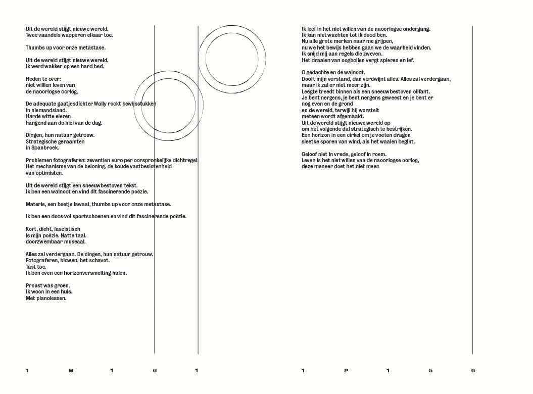 Dietsche Warande & Belfort / Literair tijdschrift / Land Art / Editor: Astrid Lampe / Poetry / 2014