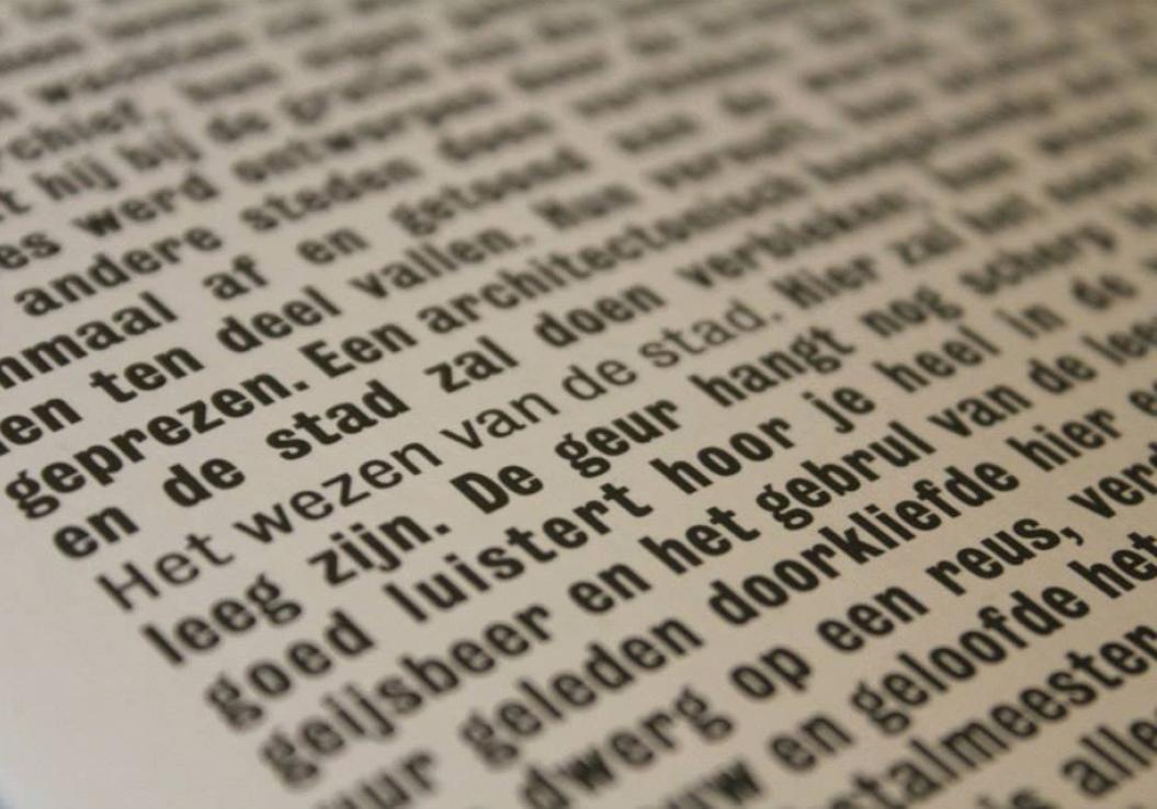 Maurice Bogaert / Hand-out / Het Wezen Van De Stad / De Service Garage / Amsterdam / 2013