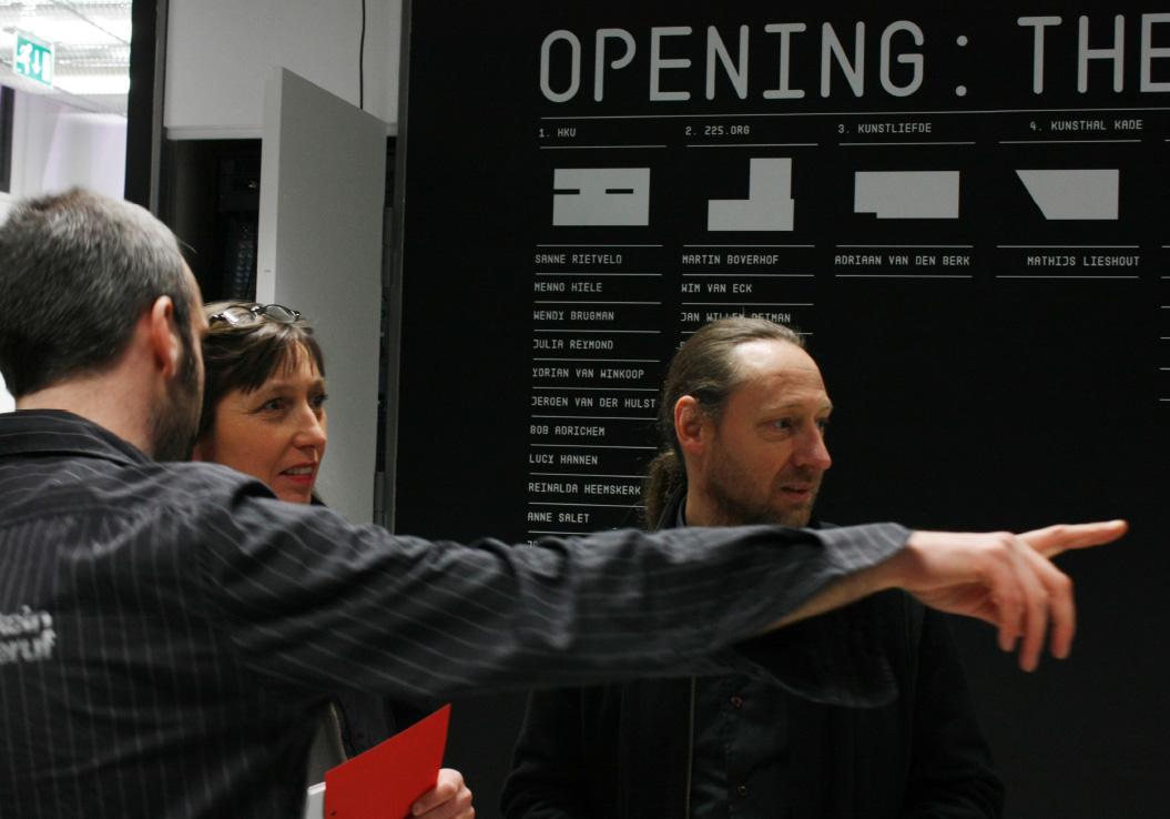 Maurice Bogaert / Opening: The Show / CBKU / Utrecht / Opening / 2009
