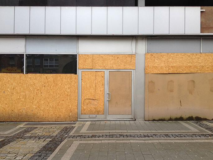 Betreten Verboten / Found Object / Dortmund