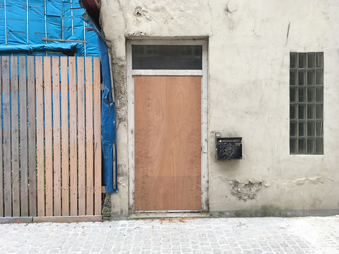 Betreten Verboten / Found Object / Venetië