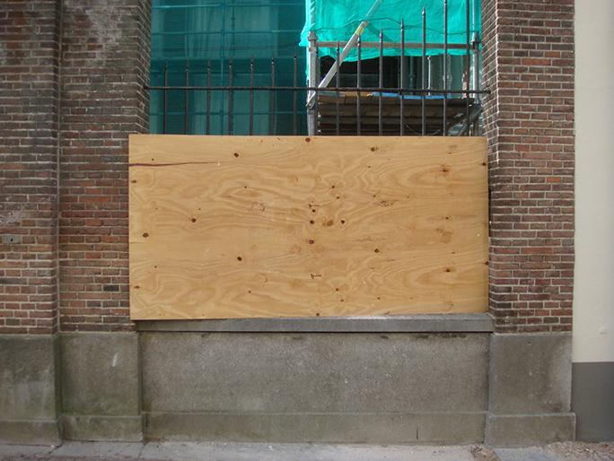 Betreten Verboten / Found Object / Antwerpen