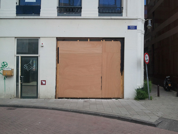 Betreten Verboten / Found Object / Ruigenhoek