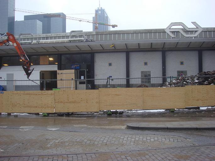 Betreten Verboten / Found Object / Rotterdam