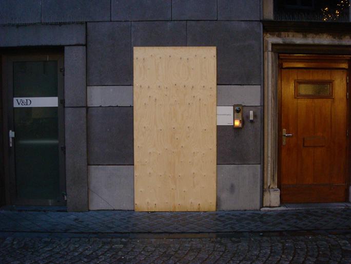 Betreten Verboten / Found Object / Groningen