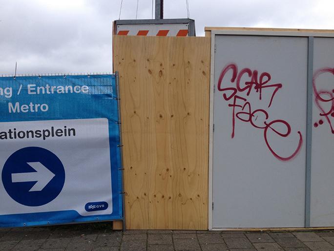 Betreten Verboten / Found Object / Oostende