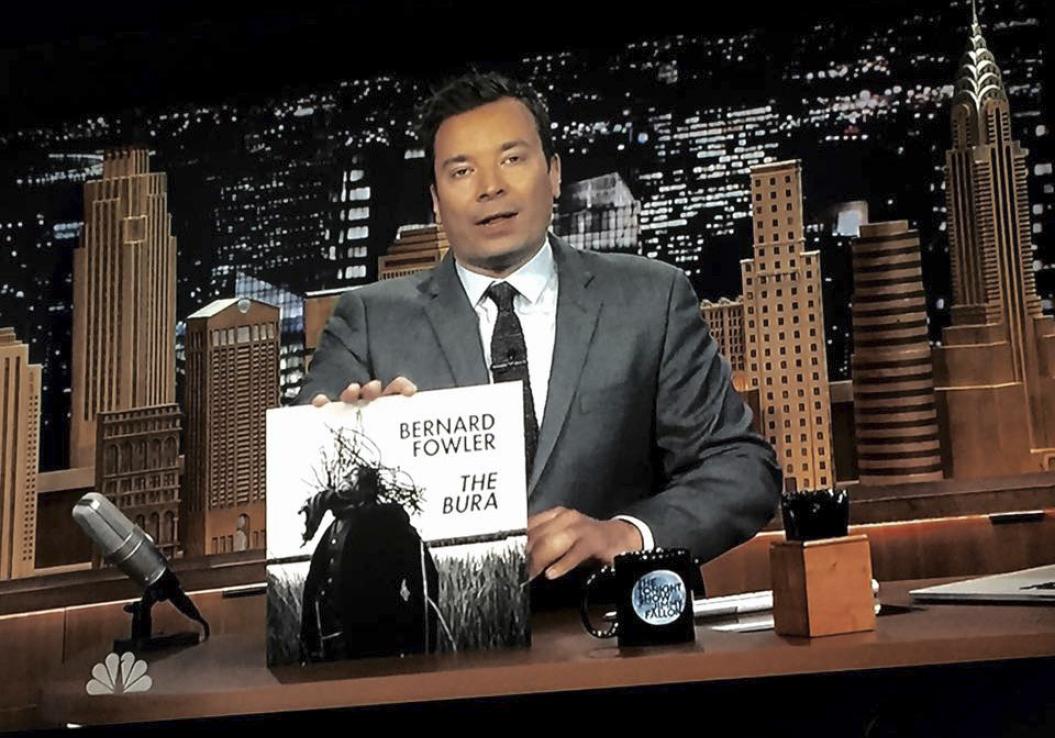 Bernard Fowler / The Tonight Show with Jimmy Fallon / 2015