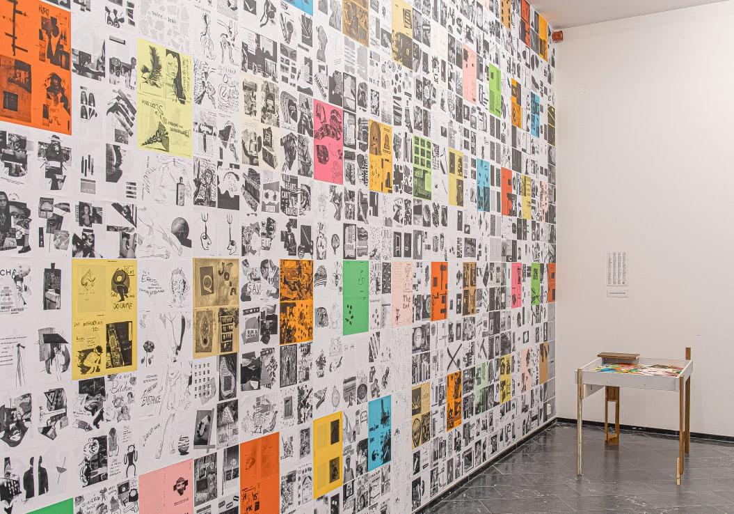 Self-publish or be damned / Tentoonstelling / Academiegalerie / Anders Zine / 2019