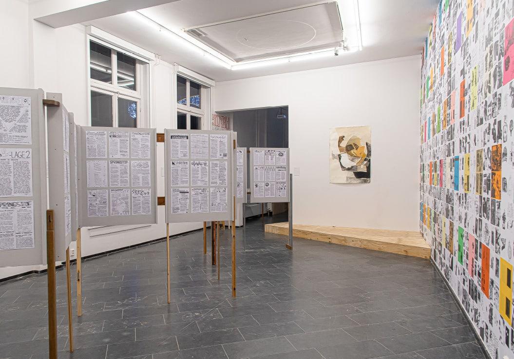 Self-publish or be damned / Tentoonstelling / Academiegalerie / Anders Zine / Springstof / Gizem Taskin / 2019