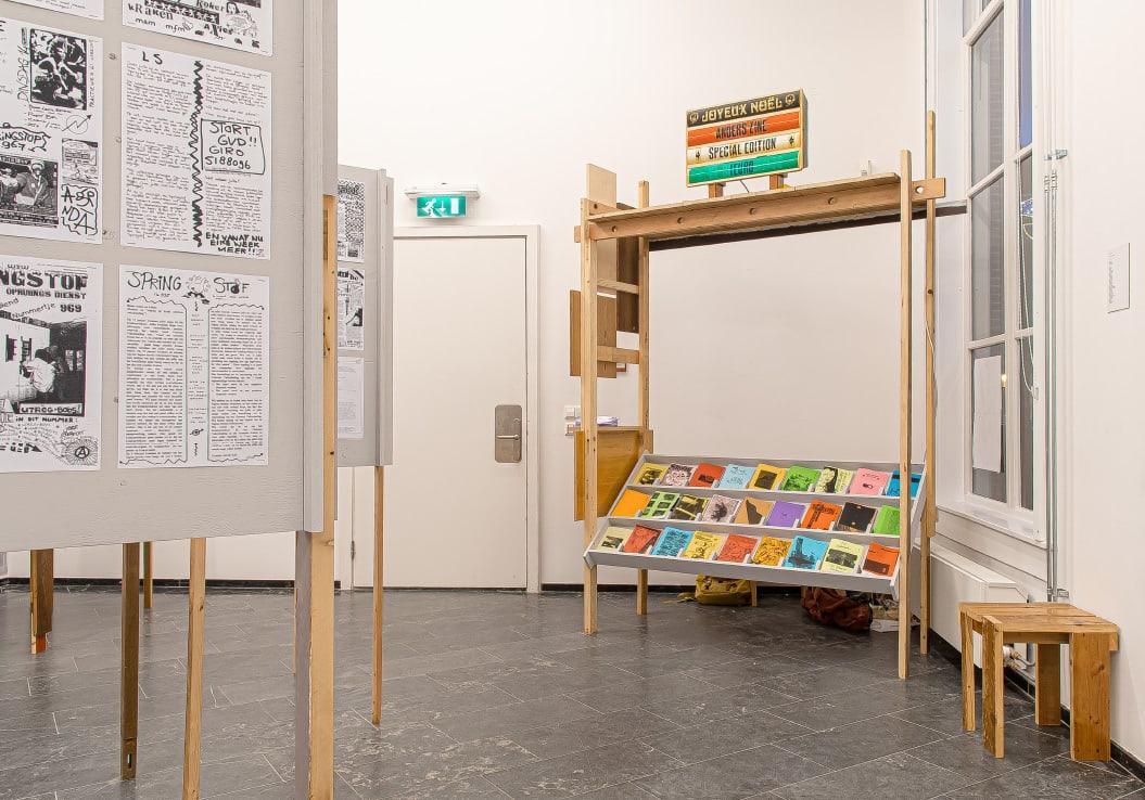 Self-publish or be damned / Tentoonstelling / Academiegalerie / Anders Zine / Springstof / Rikkert Paauw / 2019