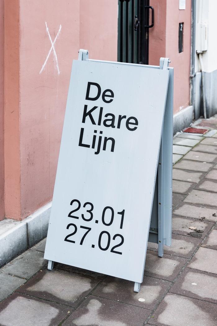 De Klare Lijn / Tentoonstelling / Antwerpen / Rikkert Paauw / Bram Nijssen / 2021