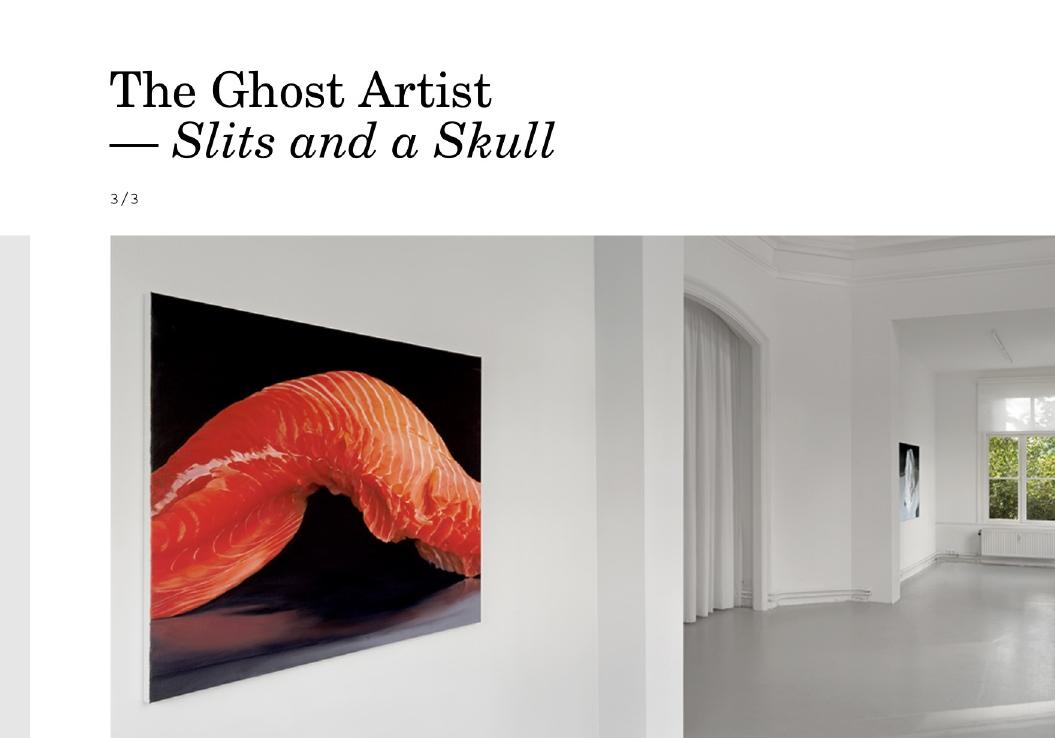 Janice McNab / Website / The Ghost Artist / 2021