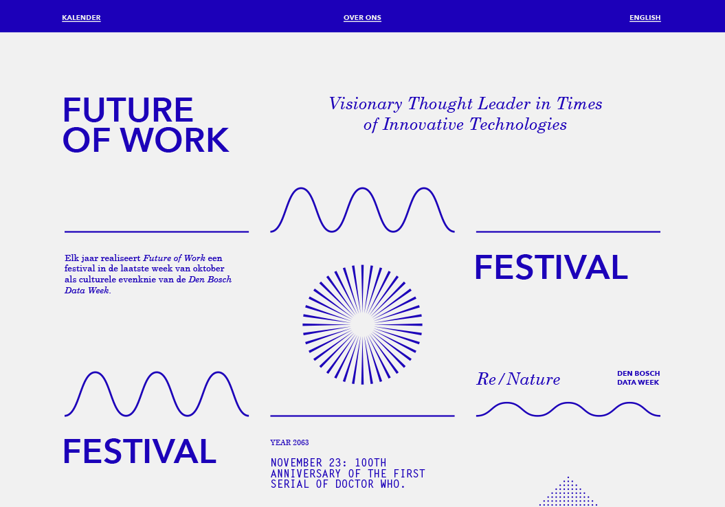 Stichting Future of Work / Website / Illustratie / 2021
