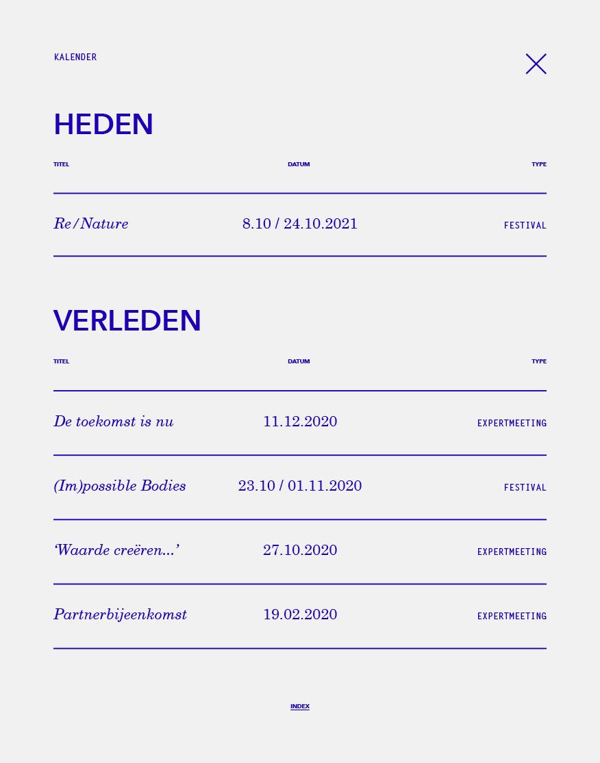 Stichting Future of Work / Website / 2021