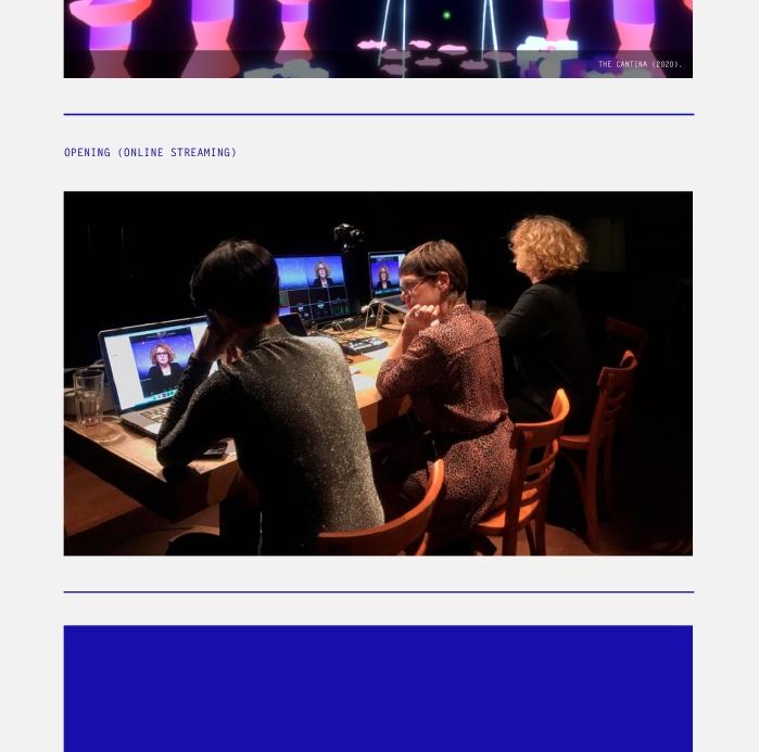 Stichting Future of Work / Website / (Im)possible Bodies / 2021
