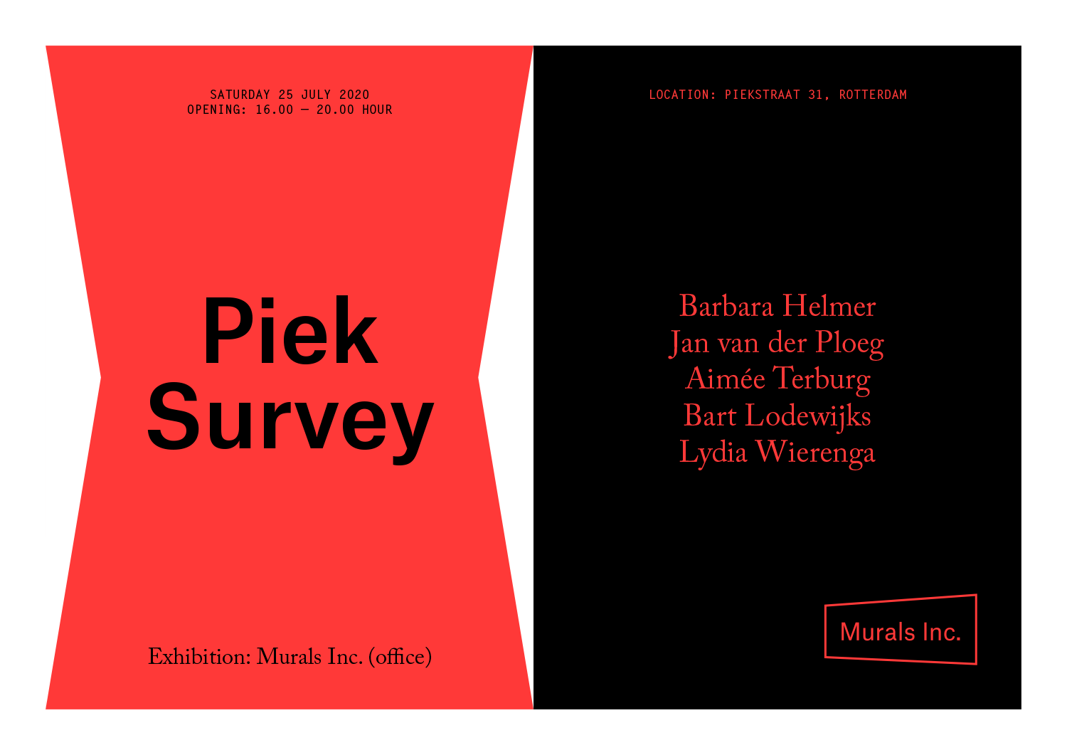 Murals Inc. / (real) humans / Campagne / 2021