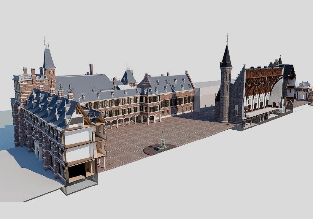 Root / Website / Binnenhof, Den Haag / 2020